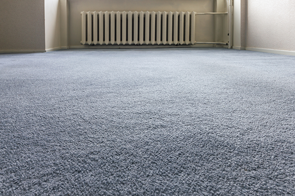 An image showing a newly carpeted floor